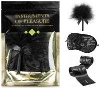 Bondage sady a postroje s pouty: Sada erotických pomůcek Instruments of Pleasure Green