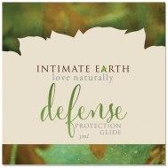 Lubrikační gely na vodní bázi: Ochranný lubrikační gel Intimate Earth Defense, VZOREK