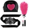 Sada erotických pomůcek Kit d'Amour Black ( v cestovní taštičce)