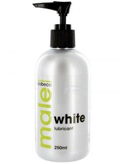 Bílý lubrikační gel MALE WHITE (extra hustý)
