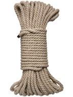 Bondage lana pro BDSM hrátky: Konopné lano Hogtied Bind & Tie 50 ft (15 m)