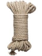 Bondage lana pro BDSM hrátky: Konopné lano Hogtied Bind & Tie 30 ft (9 m)
