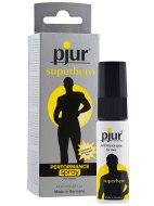 Speciální přípravky a produkty na oddálení ejakulace: Sprej na oddálení ejakulace Superhero - Pjur (20 ml)