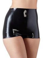 Dámské latexové oblečení: Latexové kalhotky s vysokým pasem