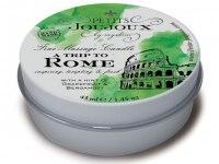 Svíčky s masážními oleji: Masážní svíčka A Trip To Rome (43 ml)